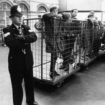 Mods In A Cage And Police On The A23 To Brighton: The 1981 Lambretta Rally