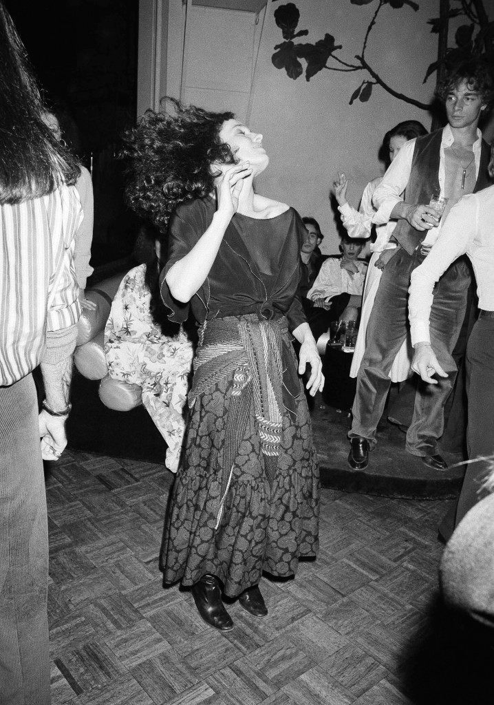 Margaret Trudeau, estranged wife of Canadian Prime Minister Pierre Trudeau, dances at New York's Studio 54 discotheque at night on Monday, Jan. 17, 1978. (AP Photo/ Richard Drew) Ref #: PA.7310896 Date: 17/01/1978