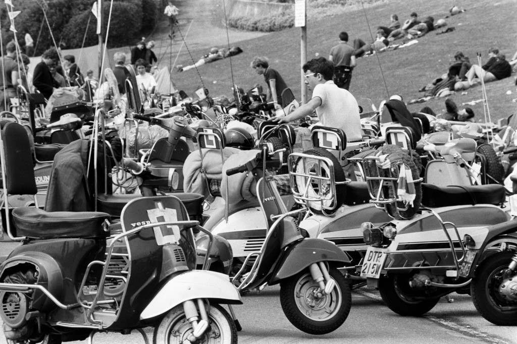 Youth Culture - Mods - A23 Brighton