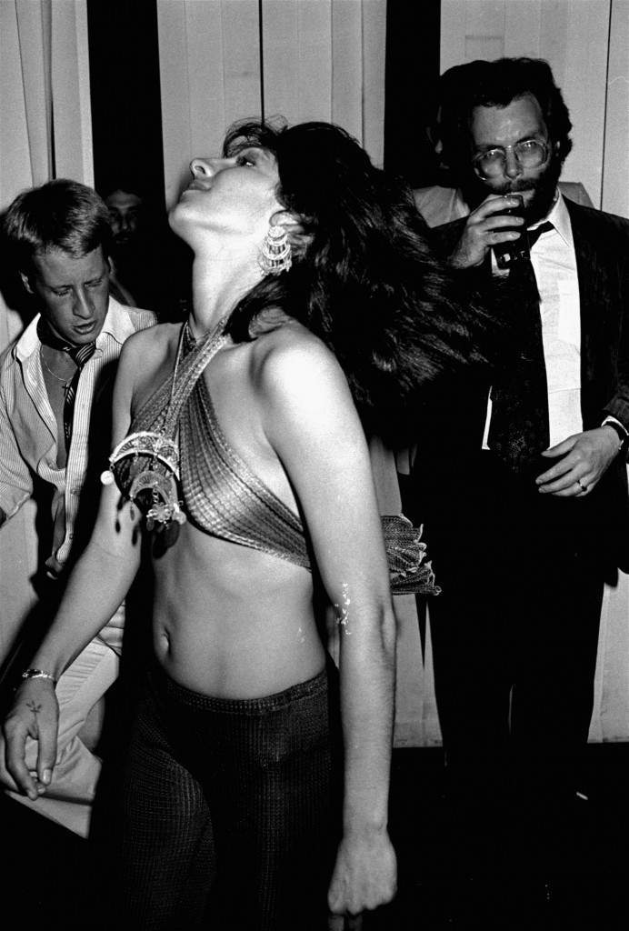 Unidentified disco dancer at Studio 54, New York City, June 22, 1978. (AP Photo/G. Paul Burnett) Ref #: PA.8637482 Date: 22/06/1978