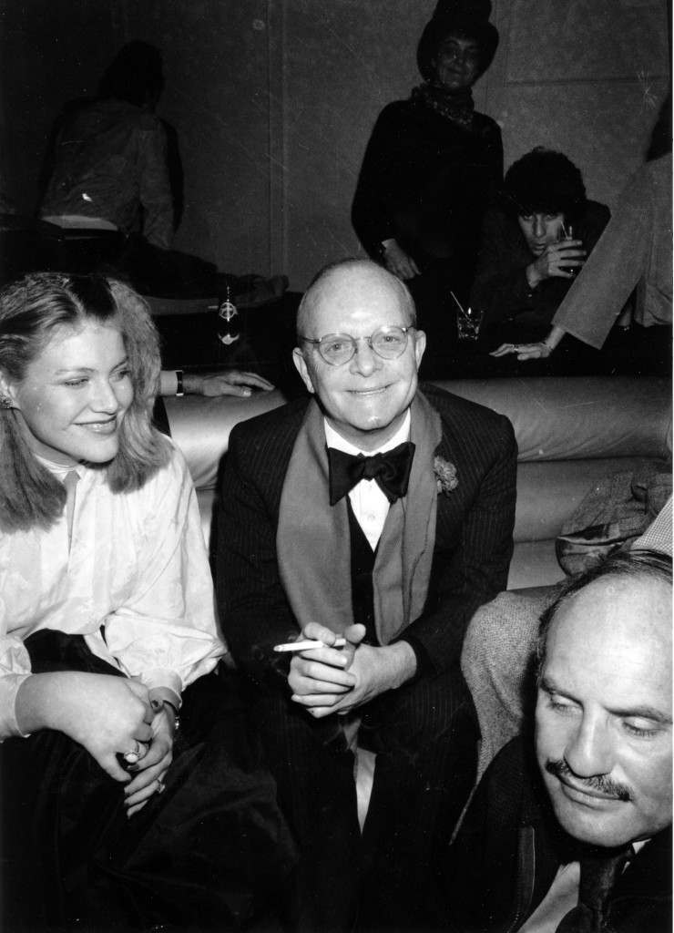 Writer Truman Capote is seen at Studio 54 in New York City on January 7, 1978. (AP Photo) Ref #: PA.8658369 Date: 07/01/1978