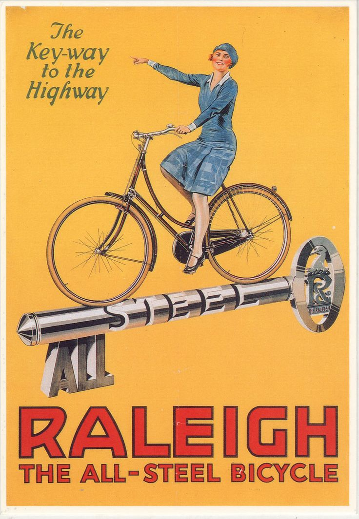 Raleigh advert