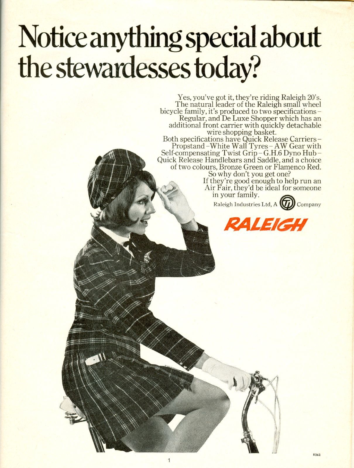 The Rise and Fall of Raleigh – 100 years of Ads.