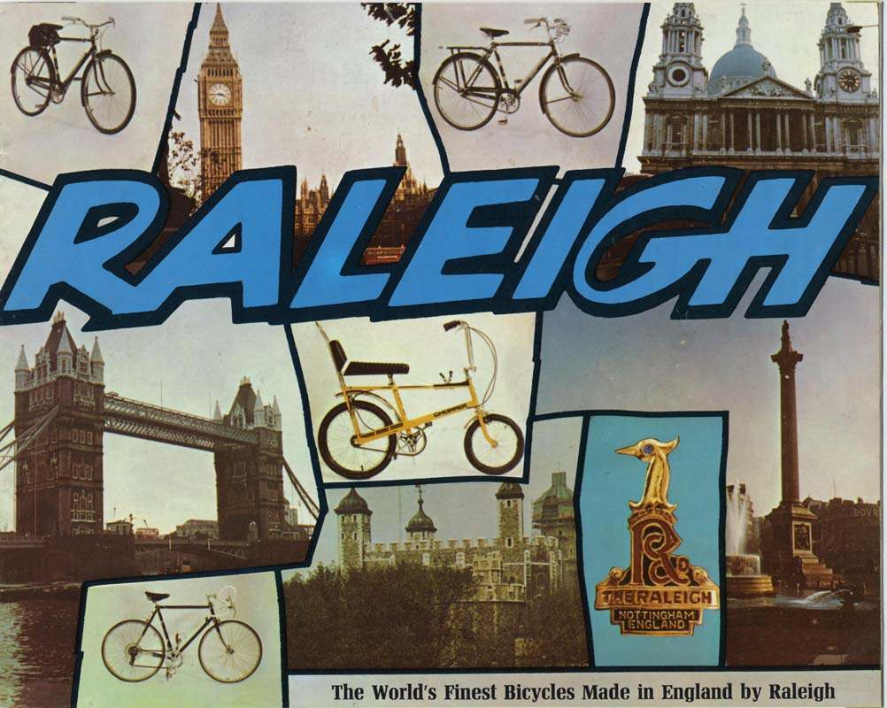 Raleigh postcard from around 1972.