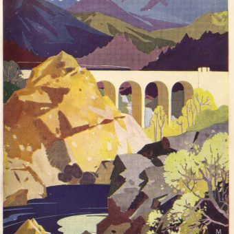 """Scotland for the Holidays"" – Beautiful Railway Brochures Issued in the 1930s"