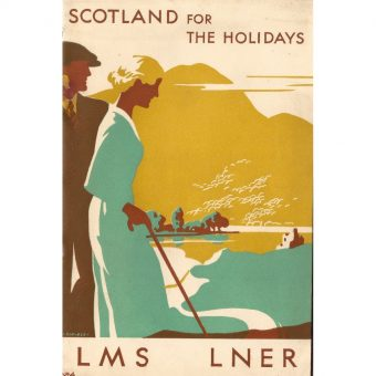 """Scotland for the Holidays"" – Gorgeous Railway Brochures and Posters From the 1930s"