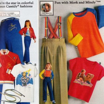 Days of Velour and Shaun Cassidy: Sears 1979 Junior Fashions