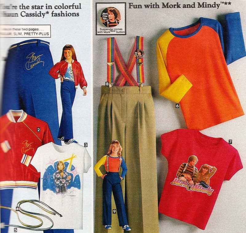 f88af33075c Do you find it a tiny bit odd that they are marketing the Mork shirt and  pants to girls