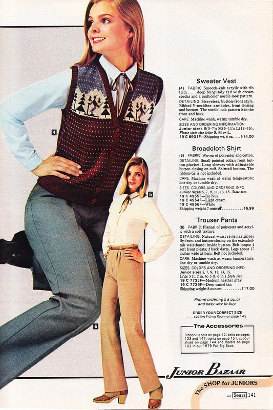 "2e55fa13954 If I described slacks for girls in 1979 as ""high waisted"" that d be a  pretty fair statement"