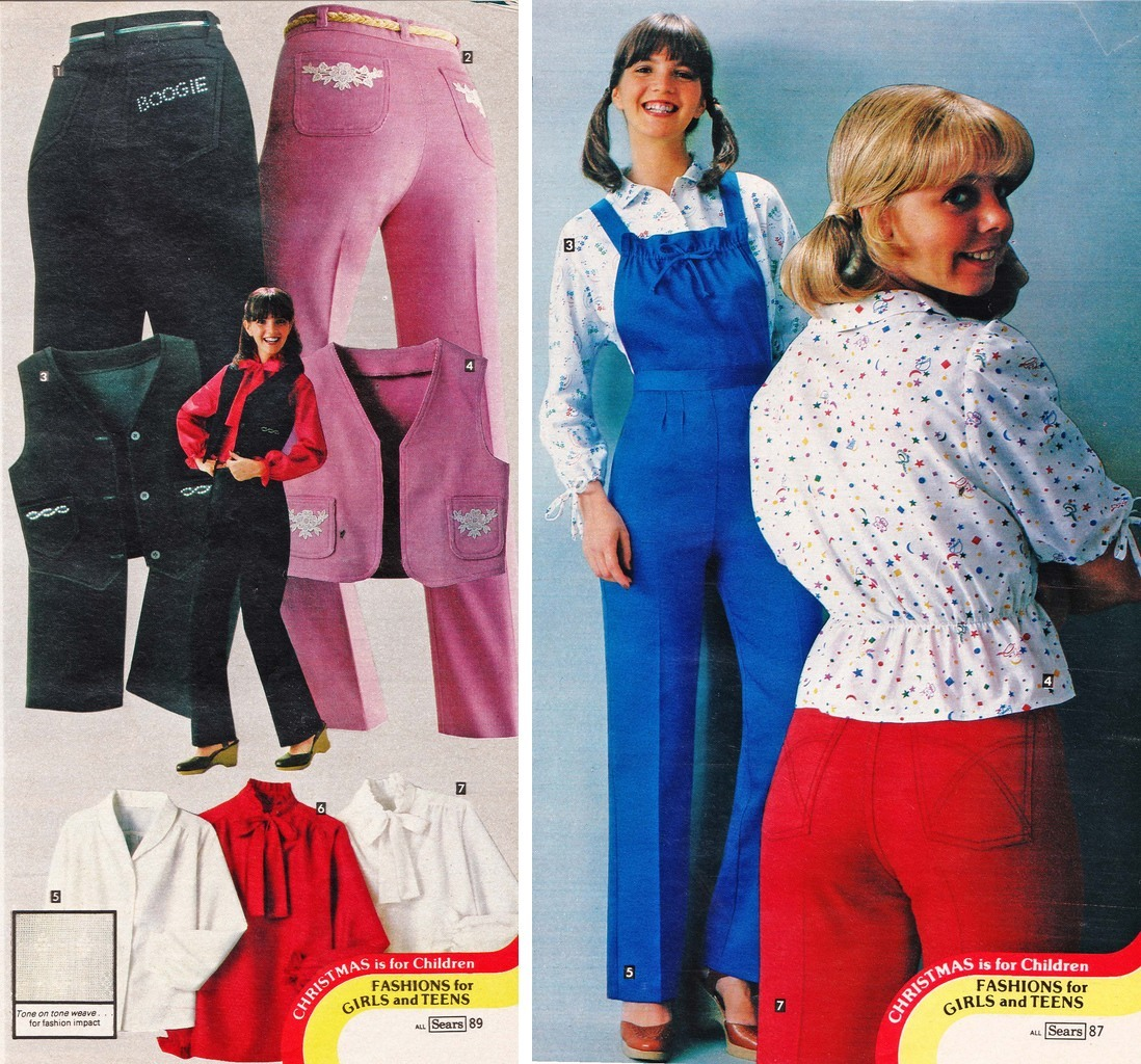 00b9f5bd8fb Days of Velour and Shaun Cassidy  Sears 1979 Junior Fashions - Flashbak