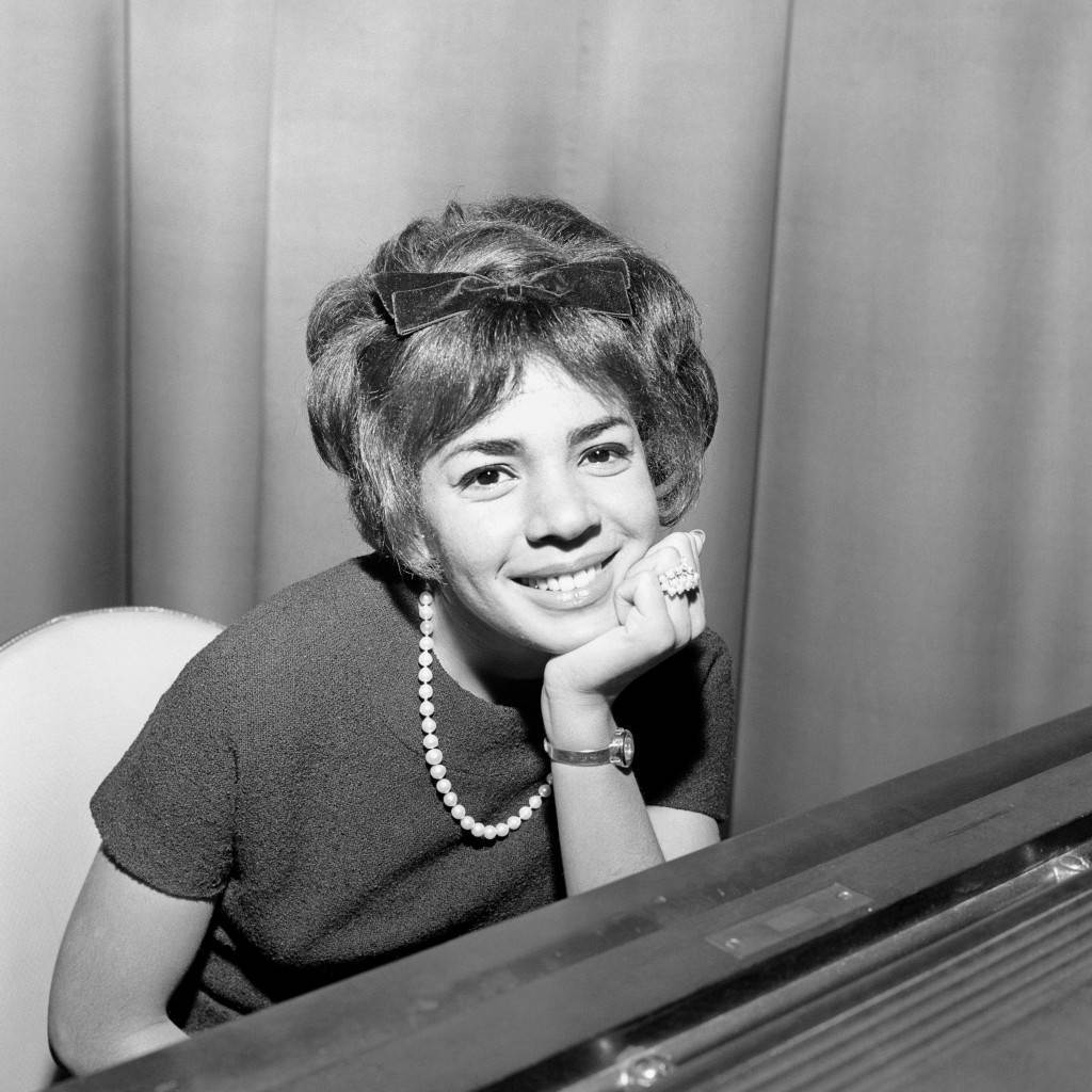 Shirley Bassey during rehearsals at the Talk of the Town in 1962.