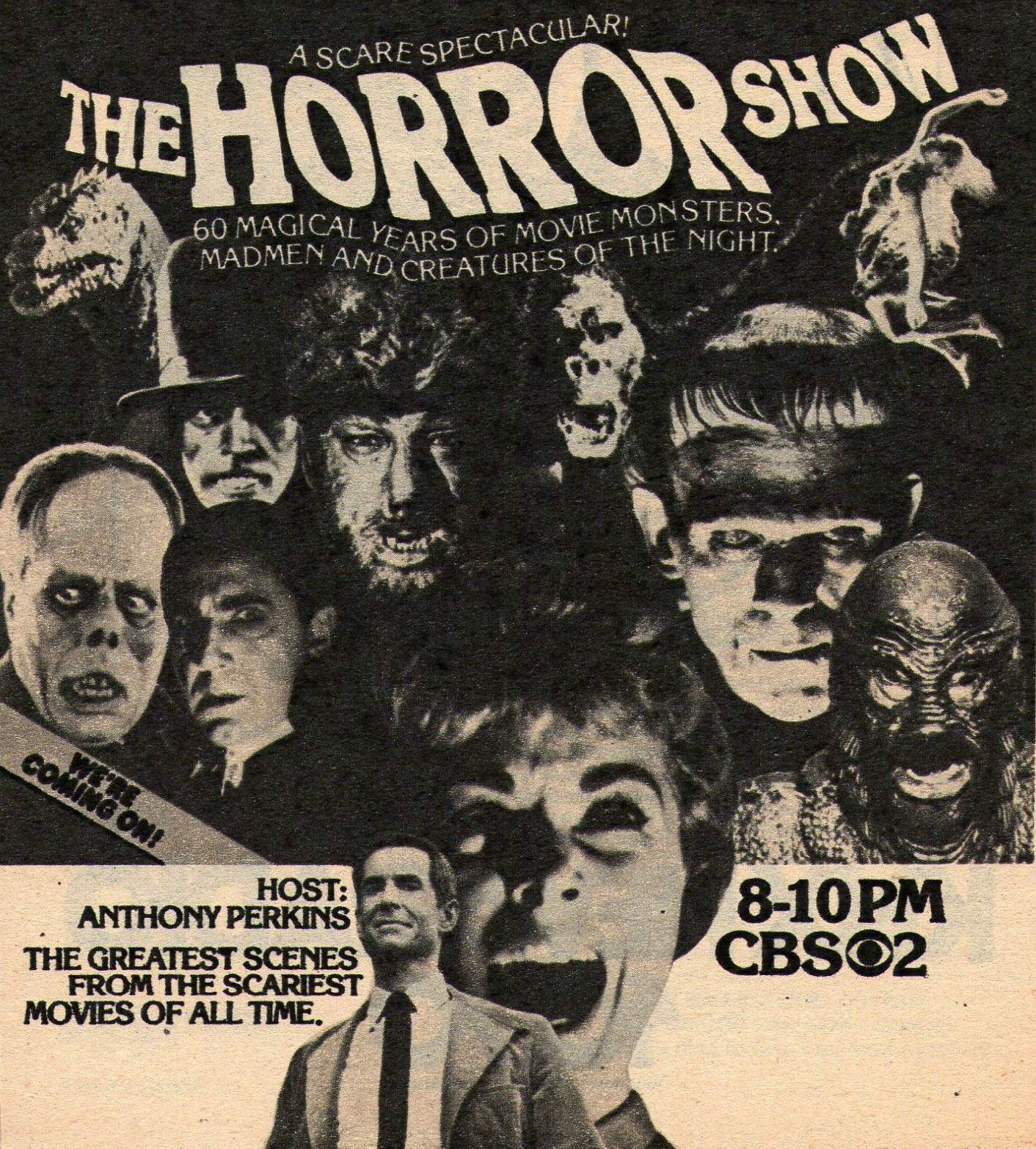 Terror On The Small Screen Vintage Tv Horror Adverts - Flashbak-5844