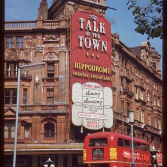Sixty Years Ago the London Hippodrome Became the Talk of the Town