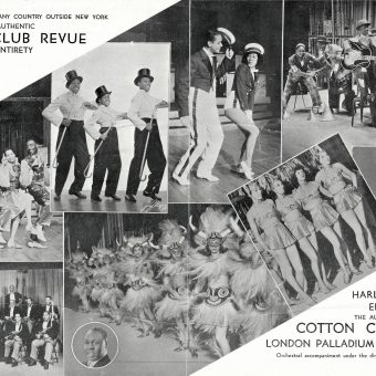 The Cotton Club Revue Visit London in 1937