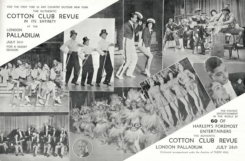 Page 1 and 2 from the Cotton Club Revue
