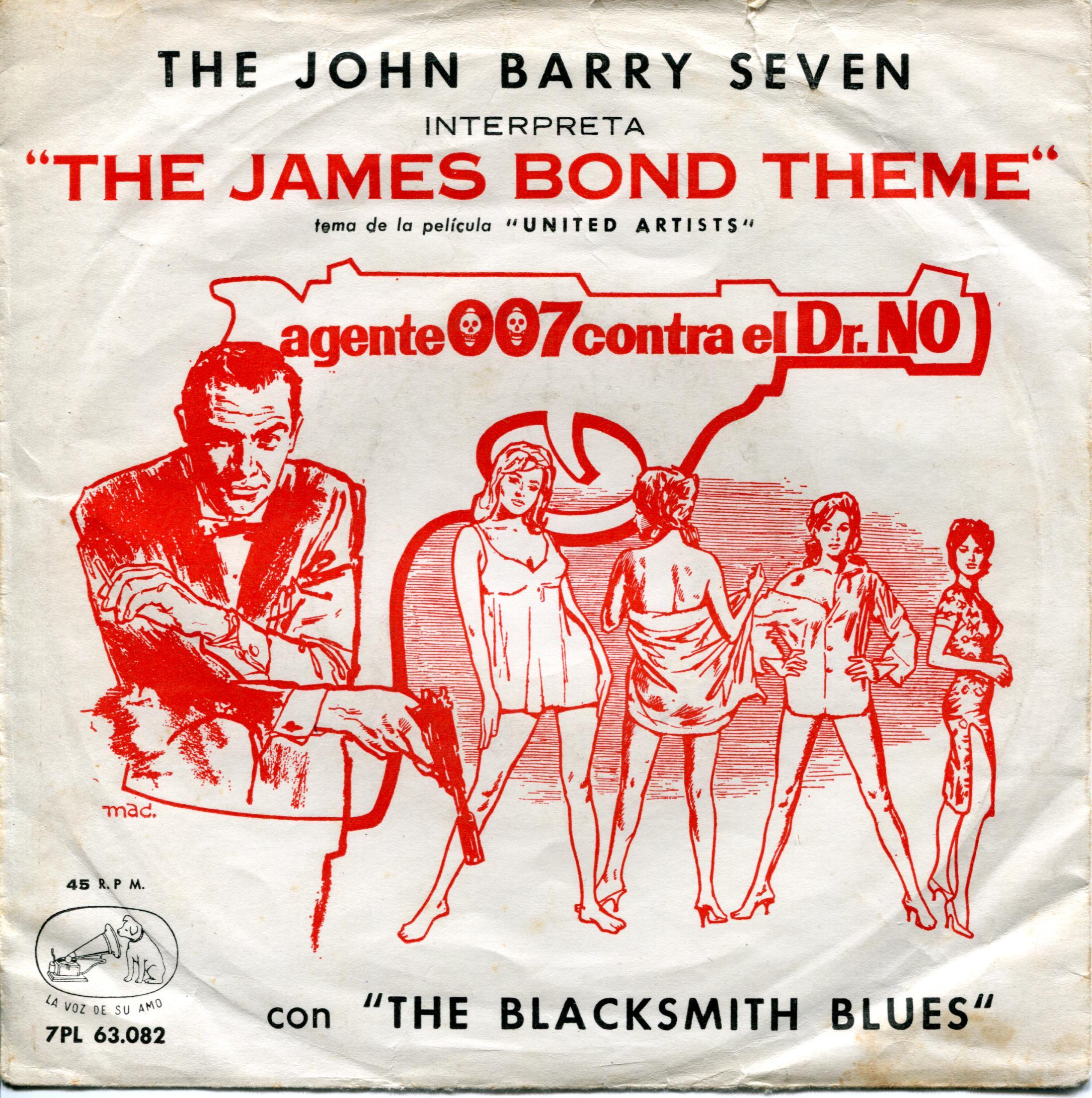The John Barry Seven interpreta James Bond Theme Dr No.