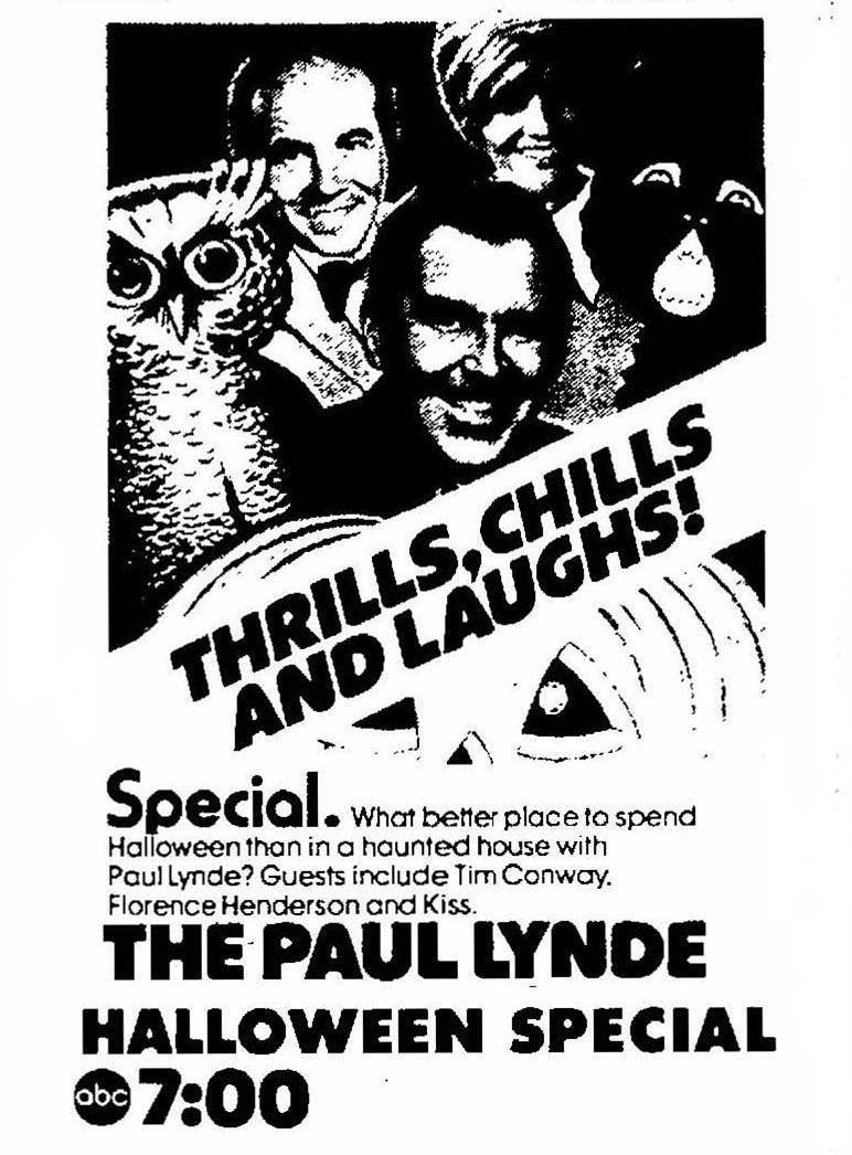 The Paul Lynde Halloween Special Ad