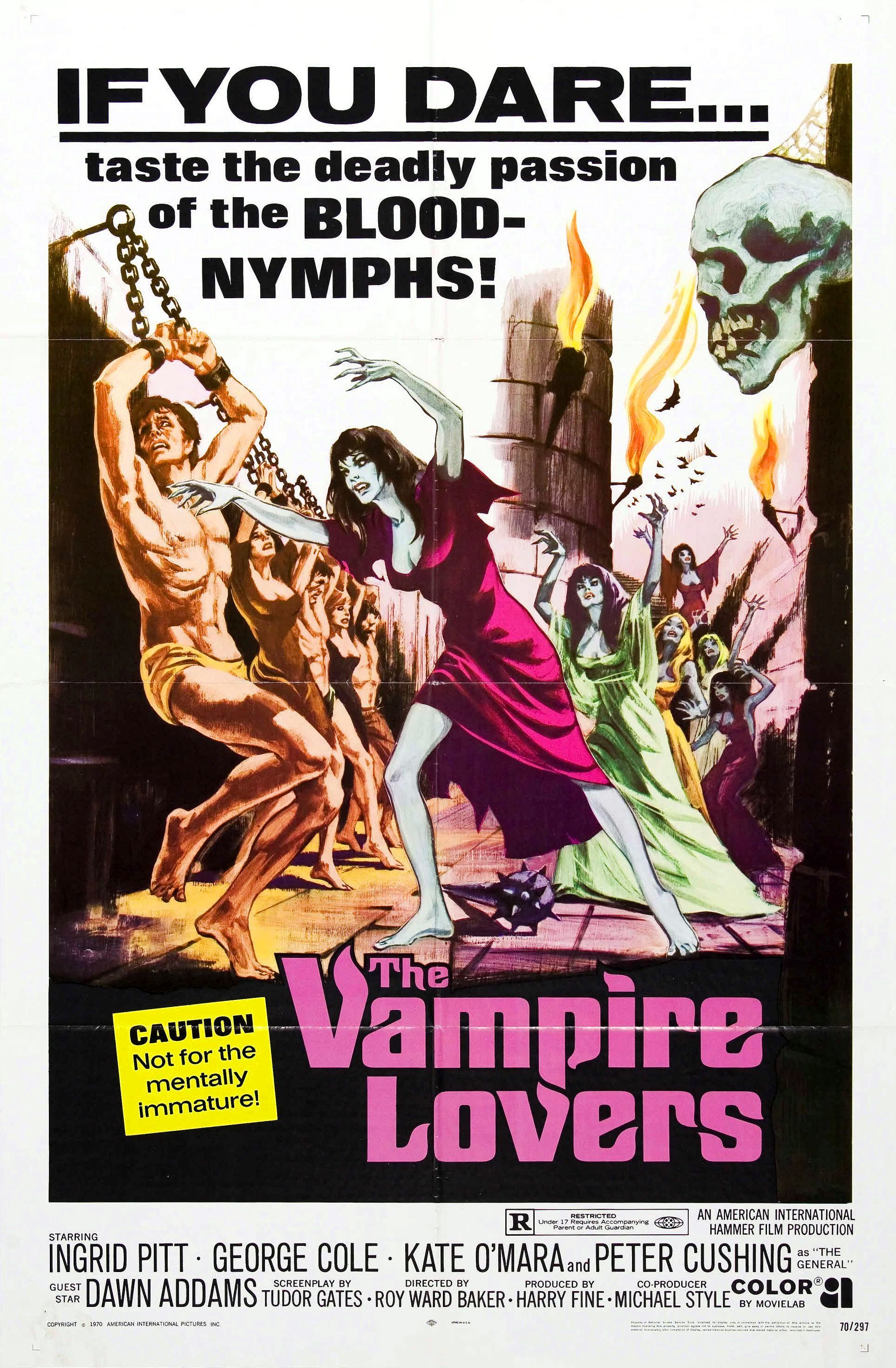 Vampire Lovers, the first of the trilogy released in 1971.