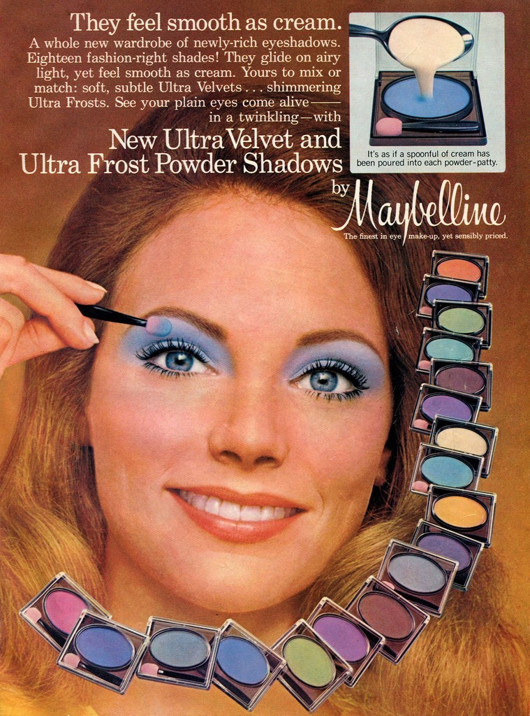 Velvet Shadows And Kissing Sticks 1970s 80s Beauty And