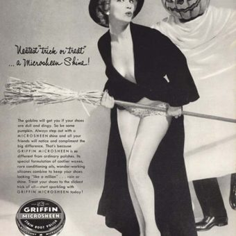 Samhainvertising:  Vintage Halloween Adverts