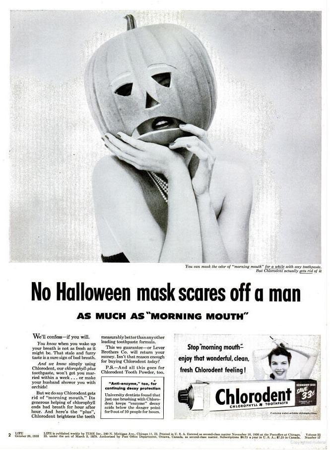 Vintage Halloween Ads.Samhainvertising Vintage Halloween Adverts Flashbak