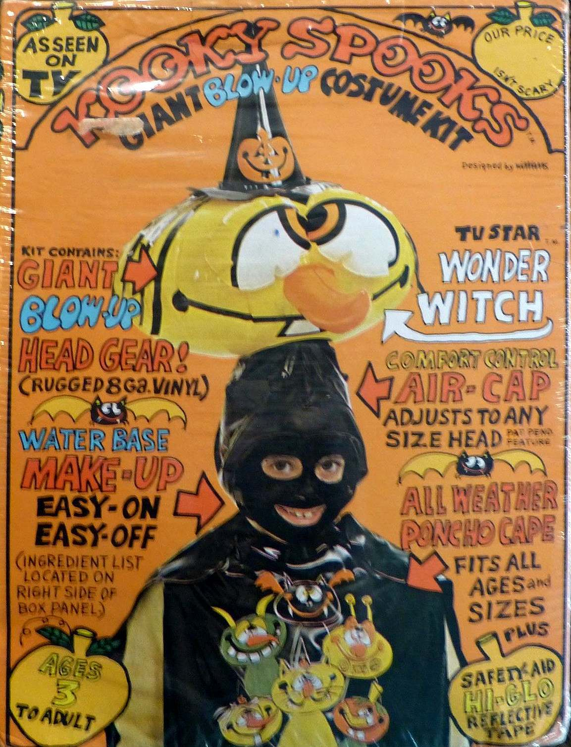 Bad Halloween Costumes of the 1970s and 80s Flashbak