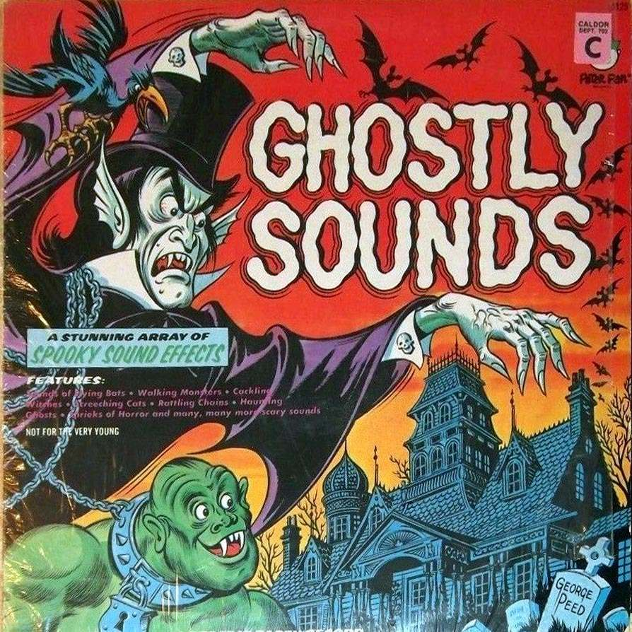 Sounds To Make You Shiver Horror Novelty Records Of The