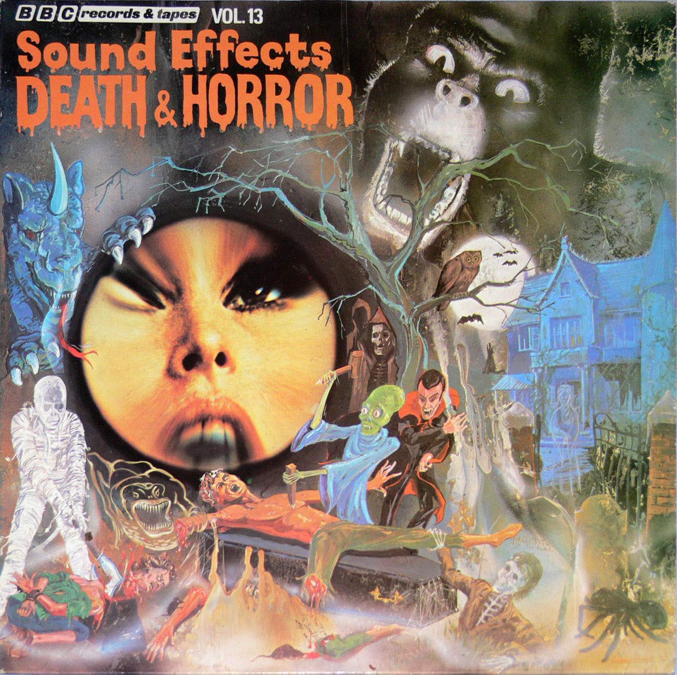 sounds to make you shiver! horror novelty records of the 1950s-80s