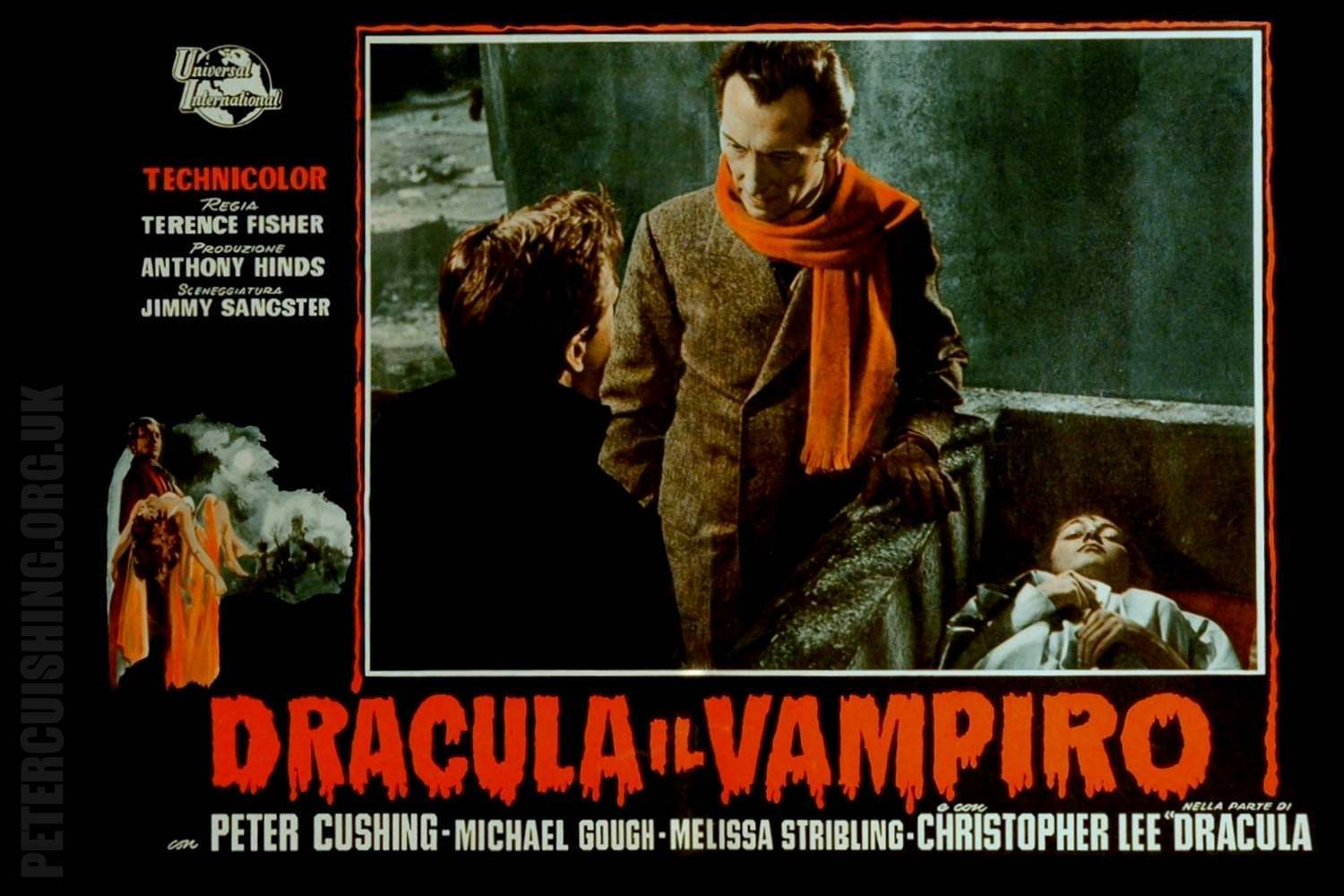 Fascinating Ephemera From Hammer S Dracula Aka Horror Of