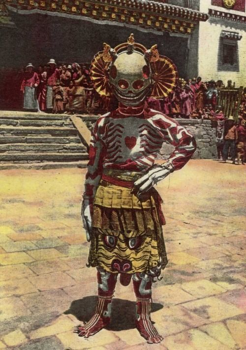 tibetan skeleton dancers 1