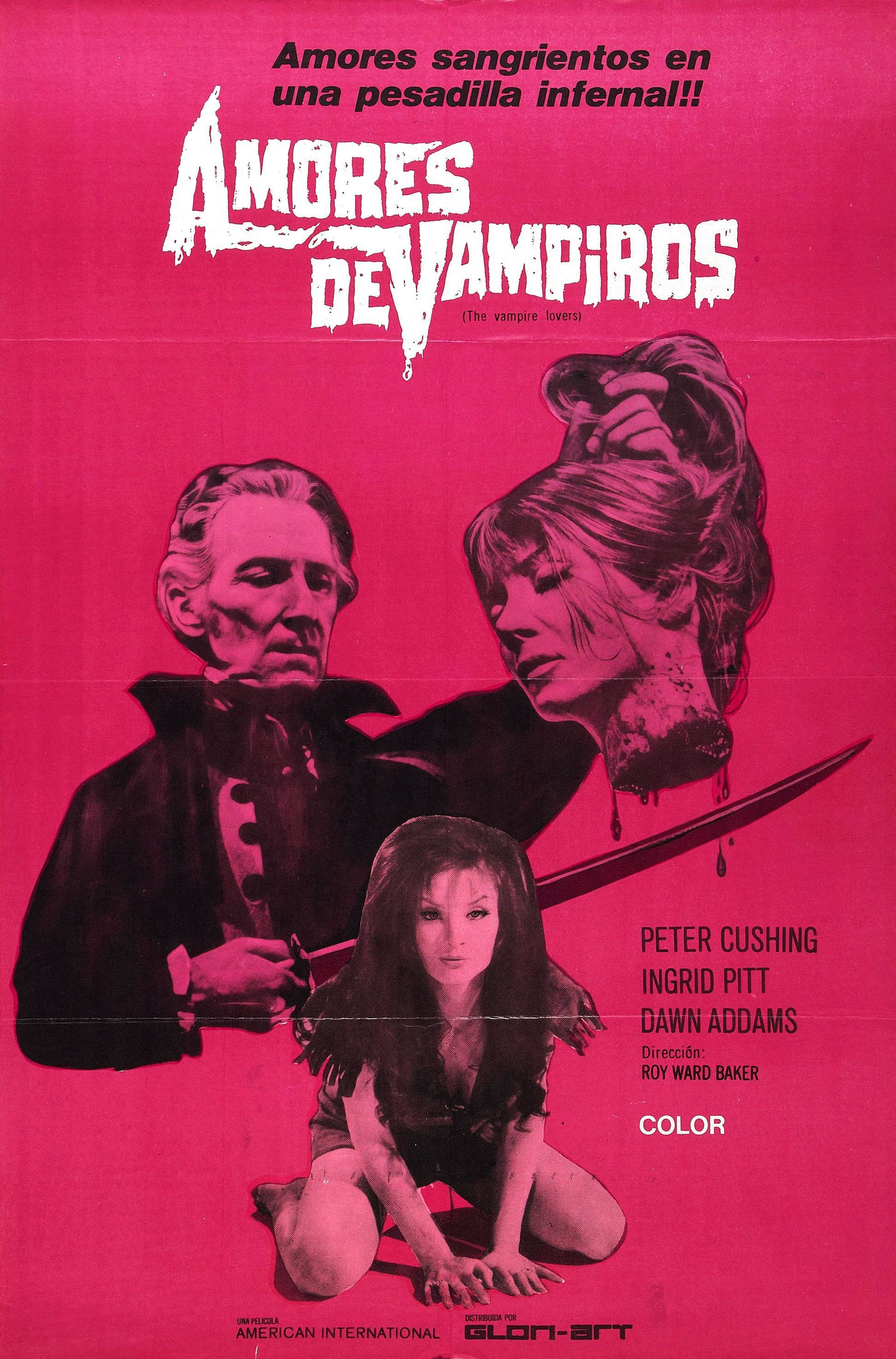A spanish poster for Vampire Lovers