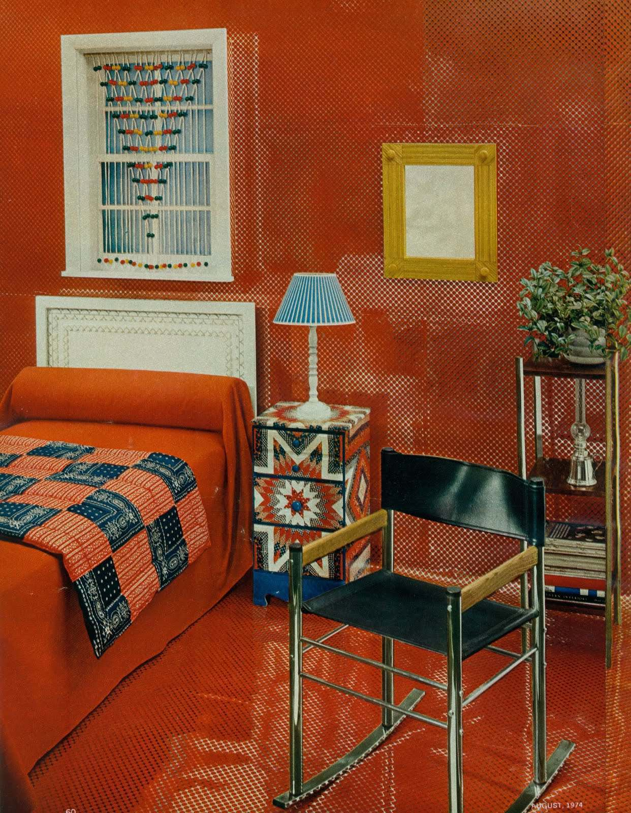 Groovy Interiors 1965 And 1974 Home D 233 Cor Flashbak