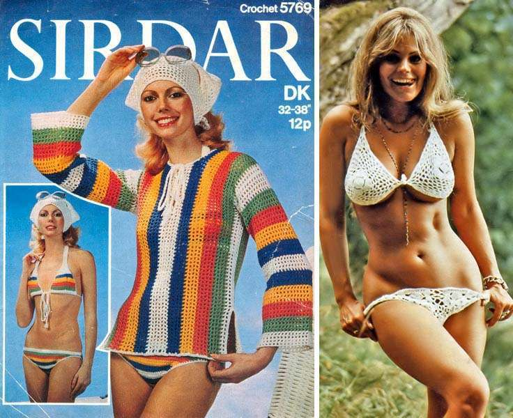 260_sirdar5769a the good, the bad and the tacky 20 fashion trends of the 1970s,70s Swimwear Fashion