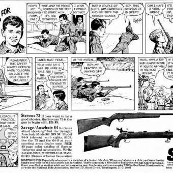 Happiness is a Warm Gun: 1965 Boy's Life Adverts