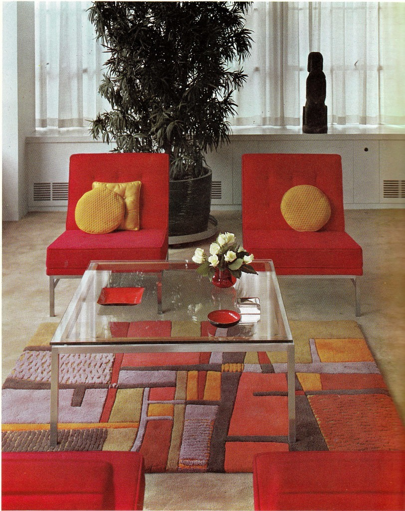 Groovy interiors 1965 and 1974 home d cor - Home interior decoration ideas ...