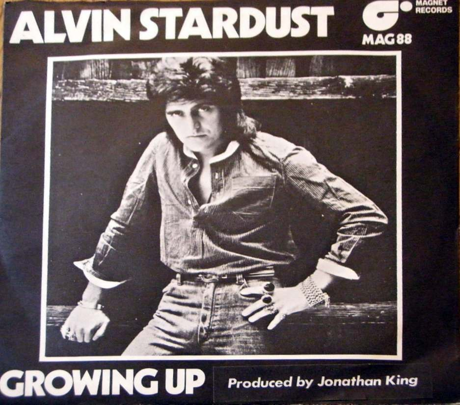 Alvin Stardust Growing Up single copy