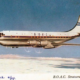 When Flying was Fun! BOAC Airline Adverts from the 40s, 50s and 60s