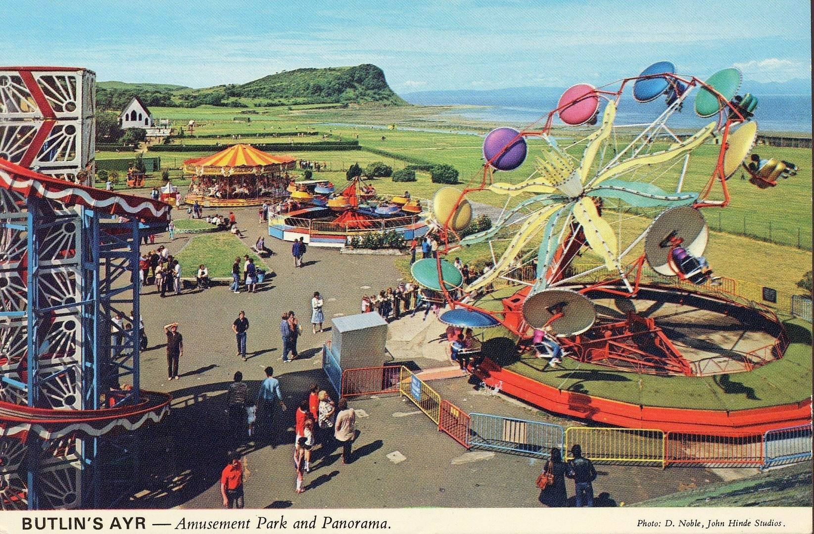 Butlins Ayr 1970s - Amusement Park
