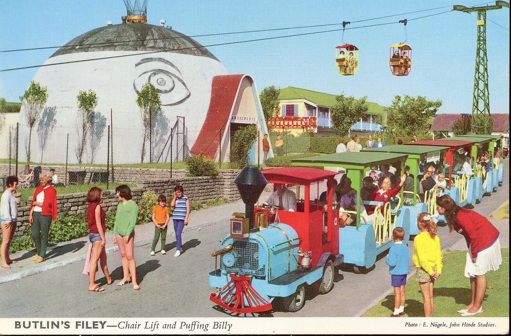 Butlins Filey - Chair Lift & Puffing Billy