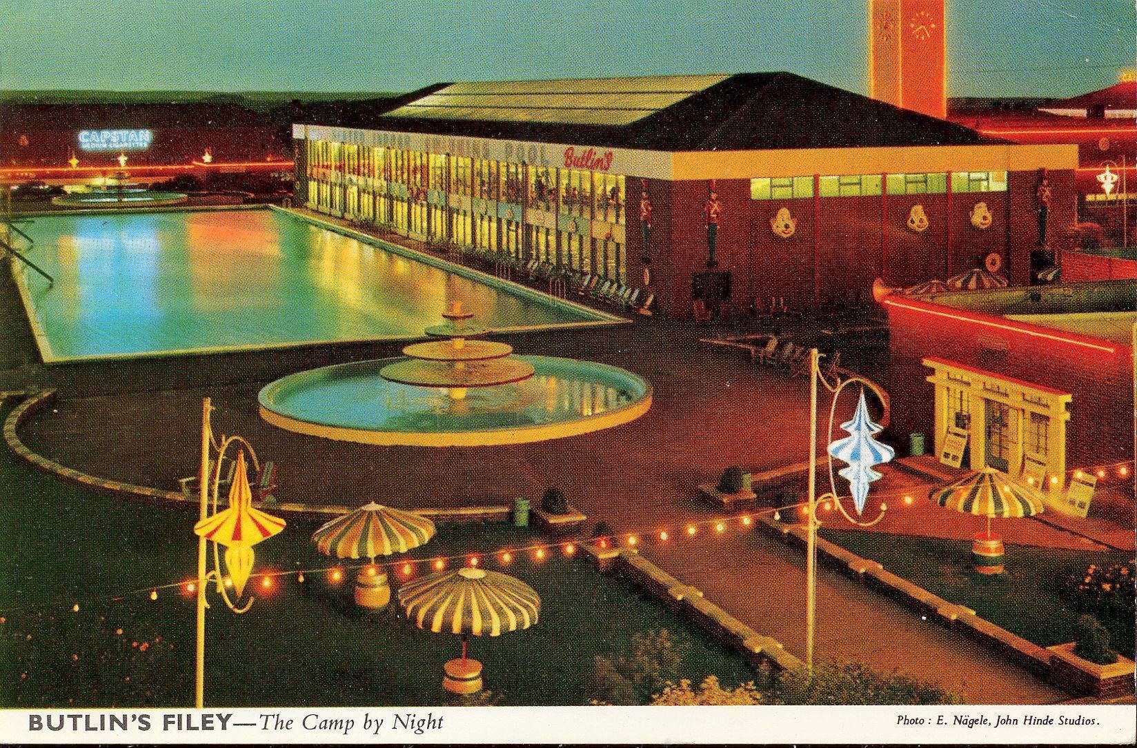 Butlins Filey - The Camp by Night