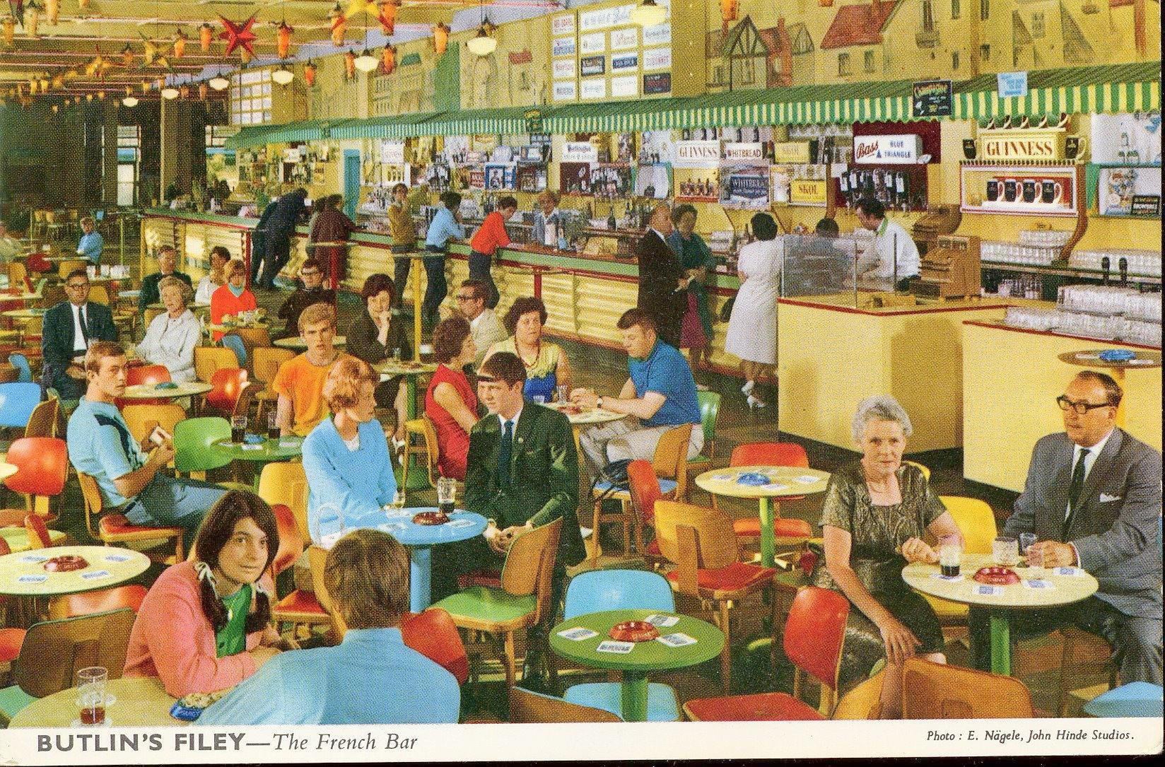 Butlin's at Filey - The French Bar