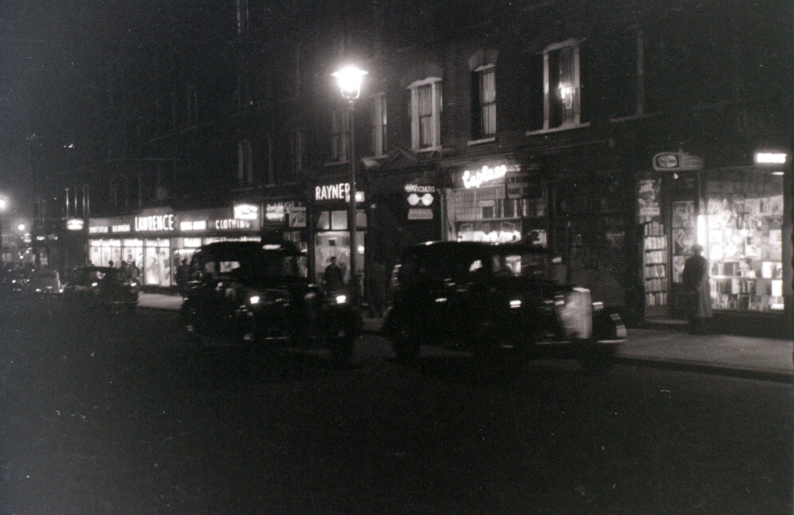 Charing Cross Road 5th November 1955