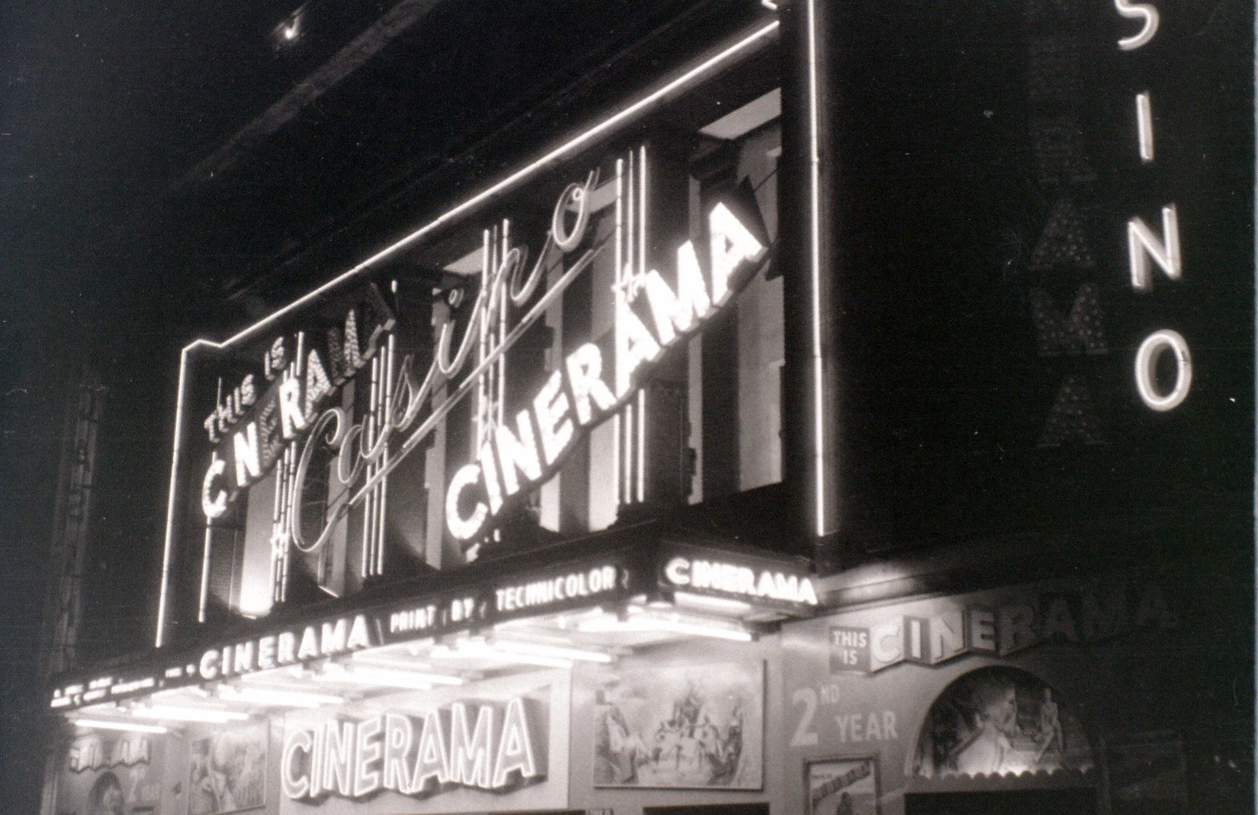 Cinerama, Casino Cinema, Soho, London, 5 November 1955