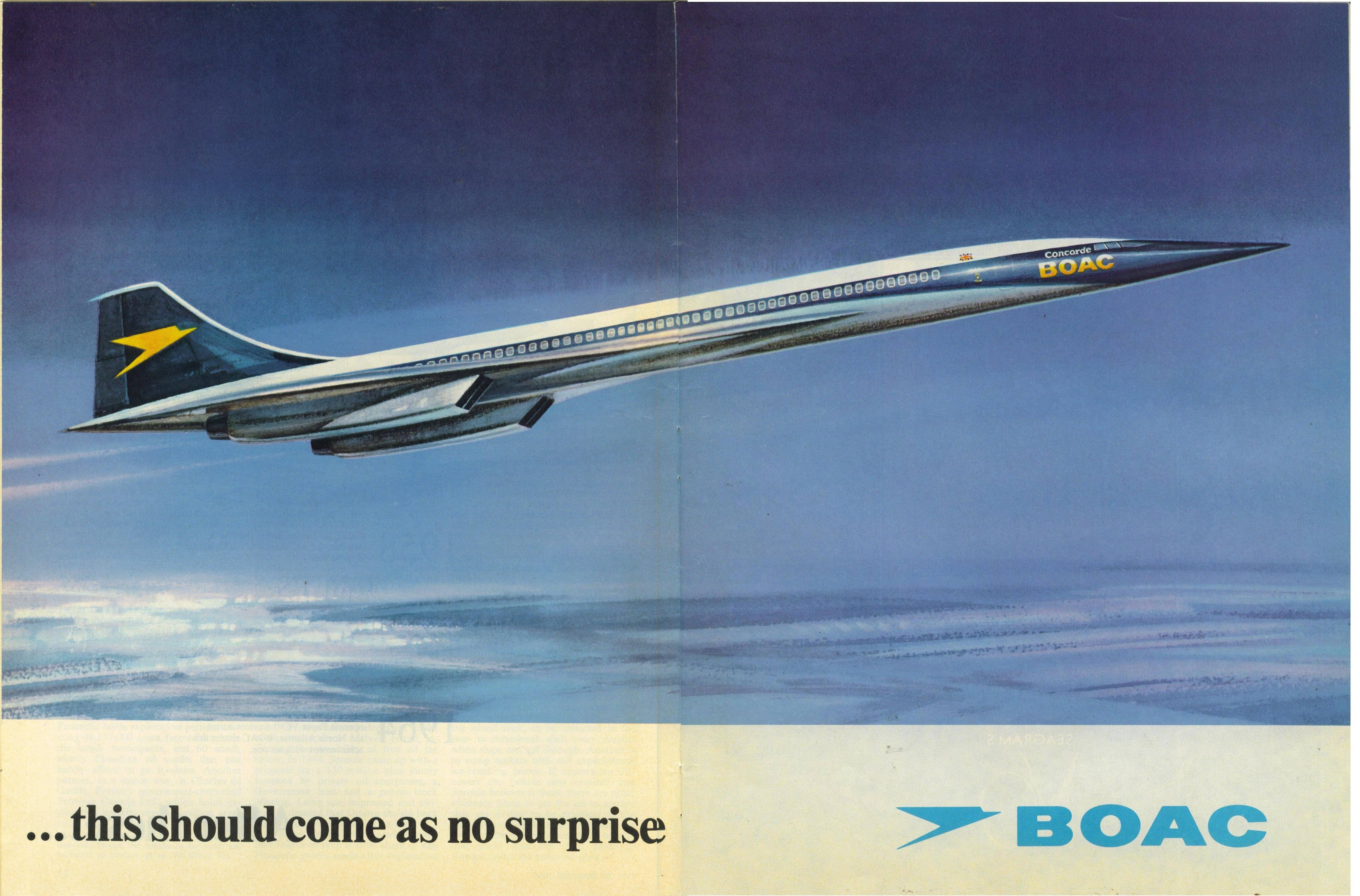 When Flying Was Fun Boac Airline Adverts From The 40s