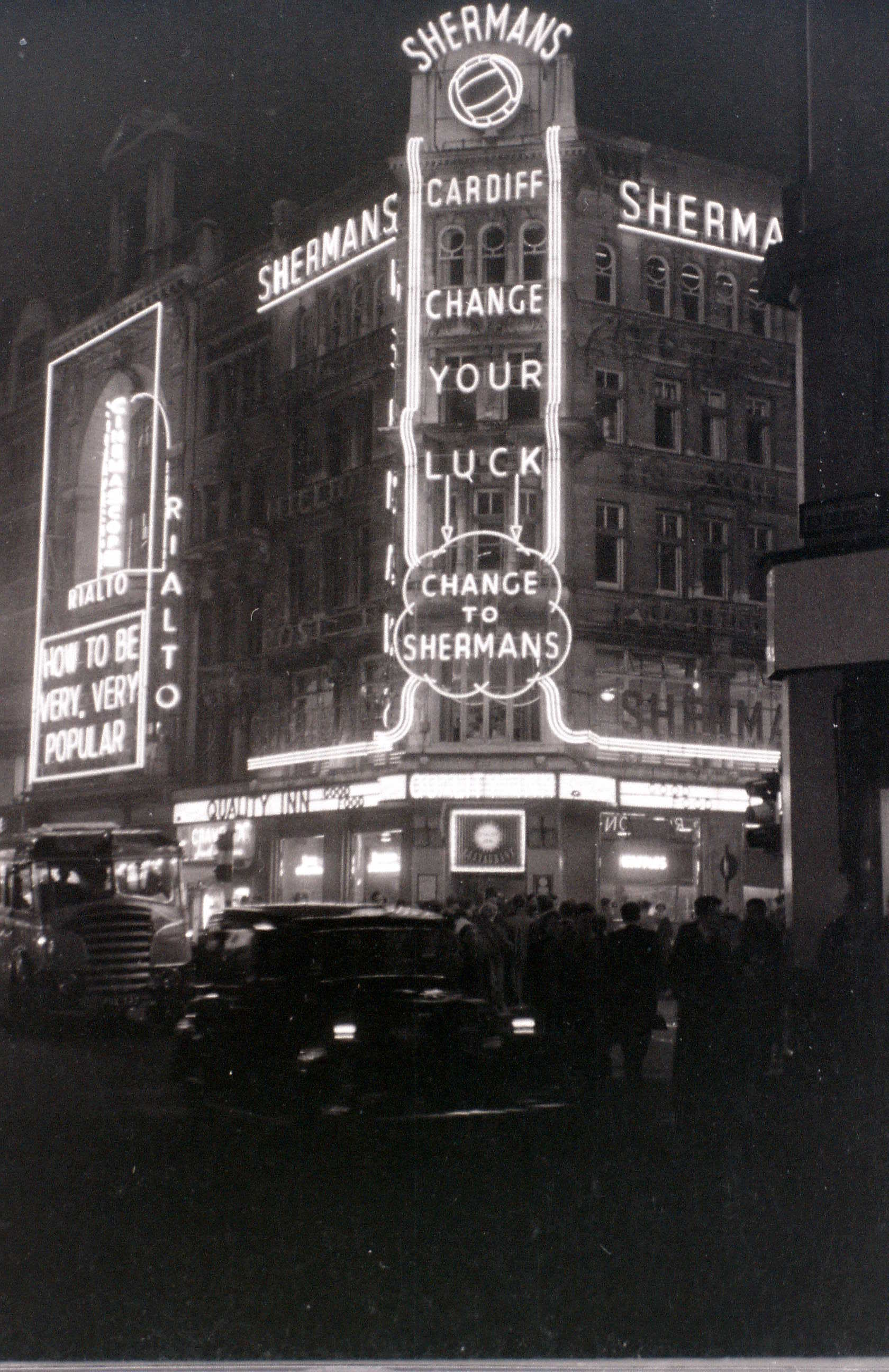 Coventry Street, London, 5 November 1955