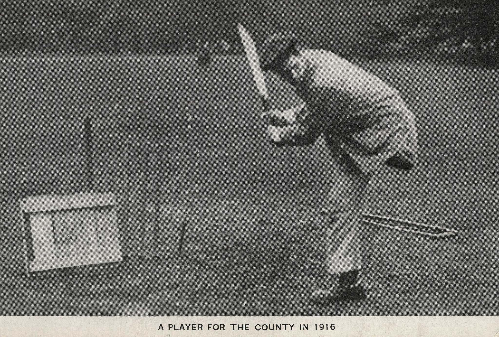 Cricketer, Queen Mary's Hospital Roehampton, 1916