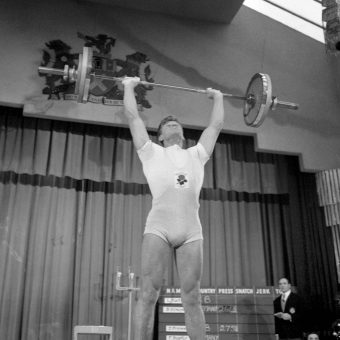 The Young Darth Vader Weightlifting in 1962