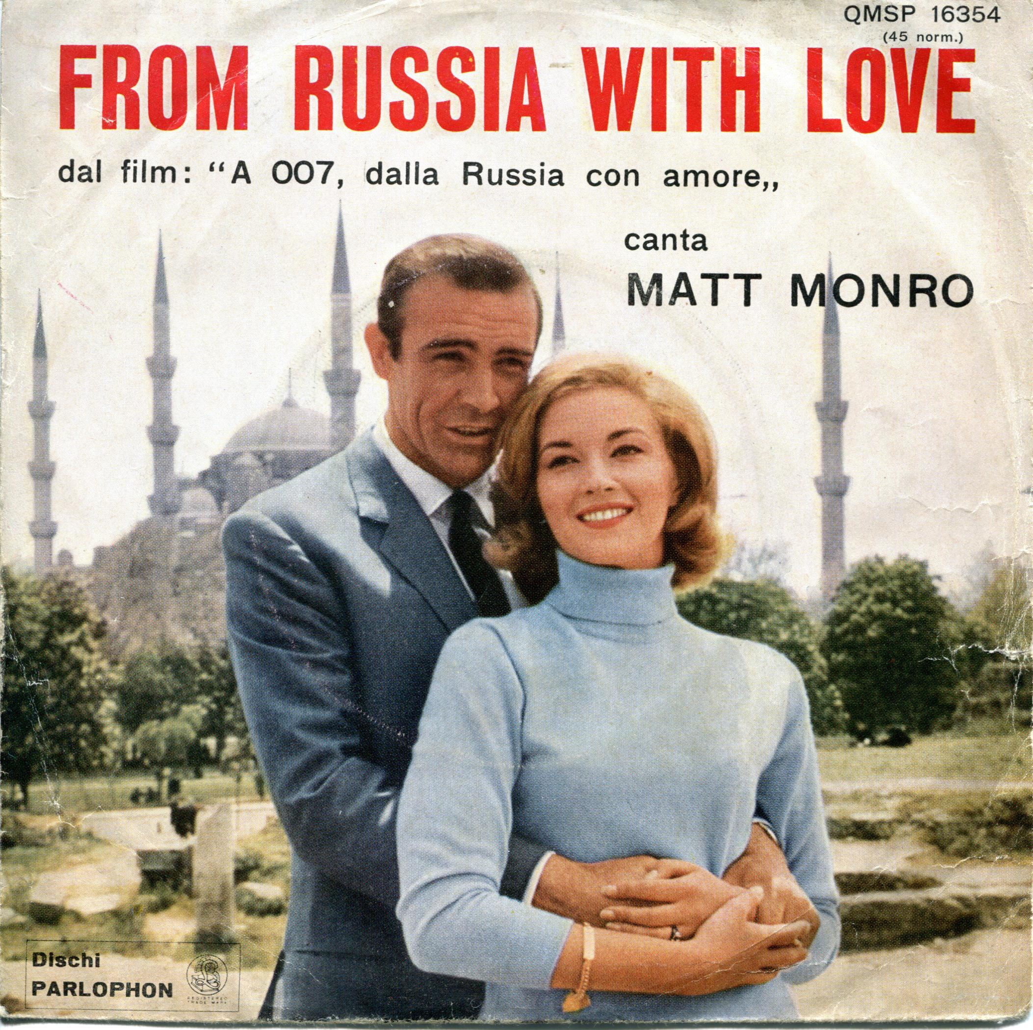 Ephemera from the Second James Bond Movie – From Russia with Love |