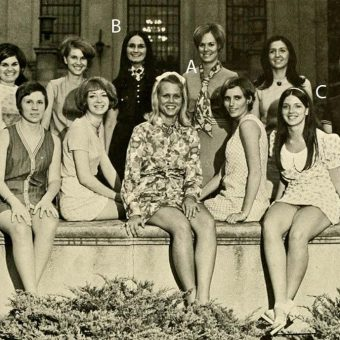 Let's Play 'Spot the Wallflower': 1970s Yearbook Group-Photo Analysis