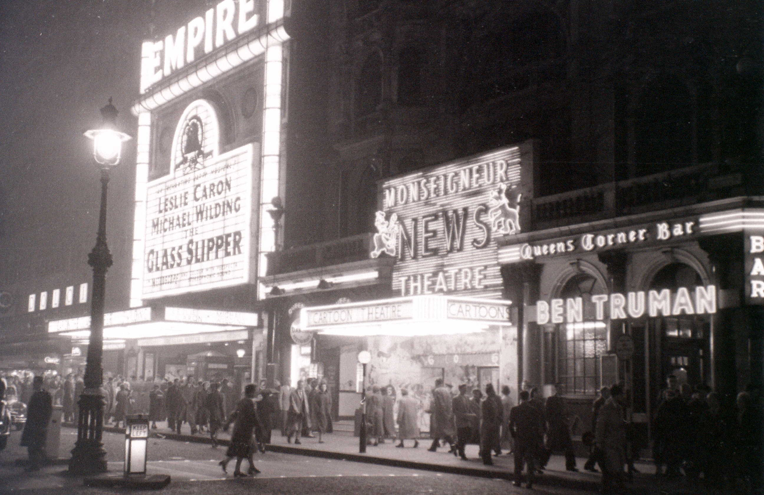 Leicester Square, London, 5 November 1955